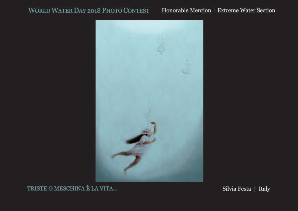 © Сильвия Феста, Почётный приз в разделе «Экстремальная вода», Фотоконкурс Всемирного дня воды — World Water Day