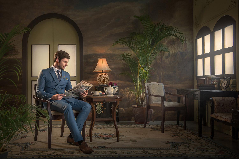 Лено Оой / Leno Ooi, Первое место в категории «Творчество — Жених в одиночестве: День вне свадьбы», Фотоконкурс WPPI First Half Competition 2017