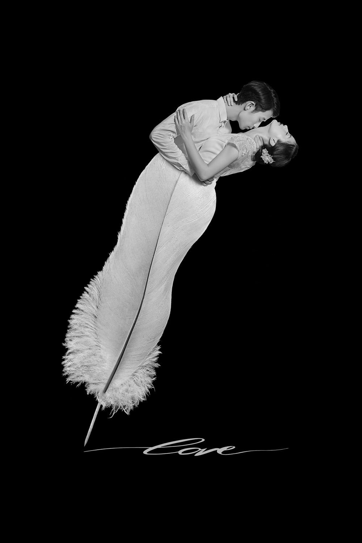 © Баопинг Йан / Baoping Yan, Первое место в категории «Творчество — Свадебная пара: День вне свадьбы (Монтаж)», Фотоконкурс WPPI Second Half Competition