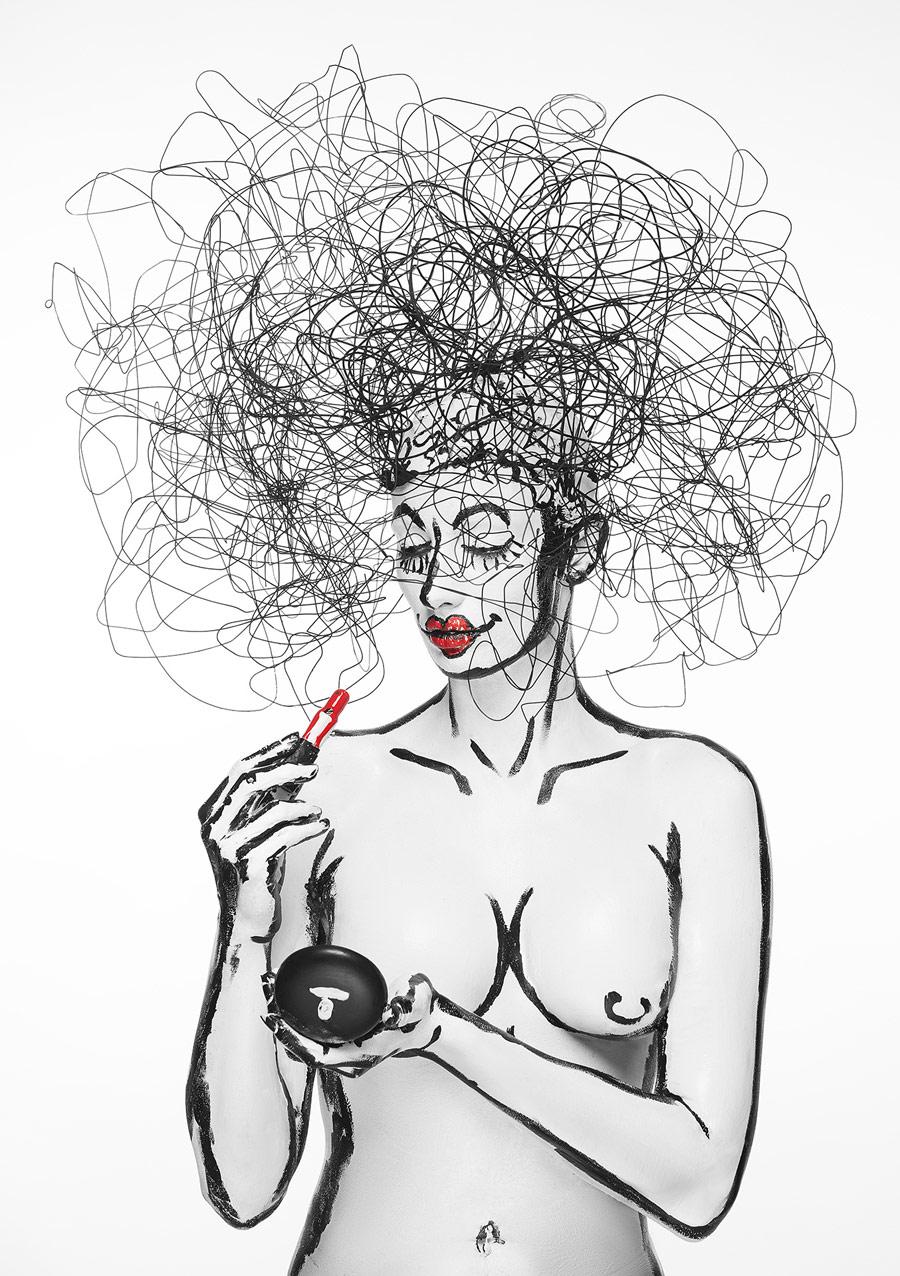 Госпожа Туди, © Энтони Барлан / Anthony Barlan, Первое место в категории «Портрет — Будуар», Фотоконкурс WPPI Second Half Competition