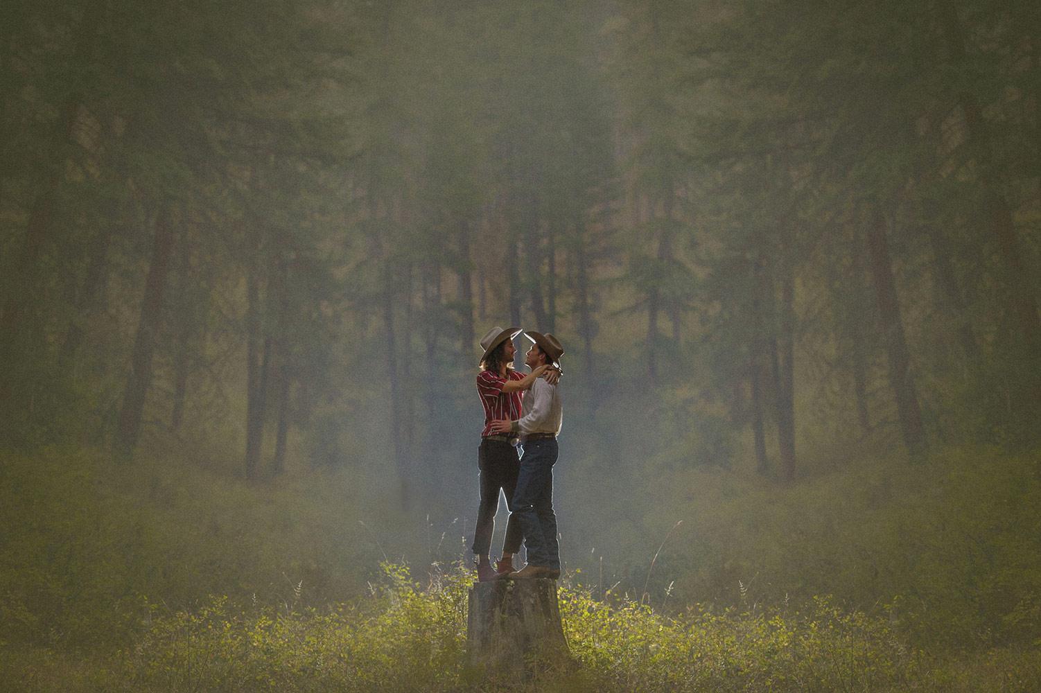 © Трейси Тейлор / Tracey Taylor, Первое место в категории «Портрет — Помолвка», Фотоконкурс WPPI Second Half Competition