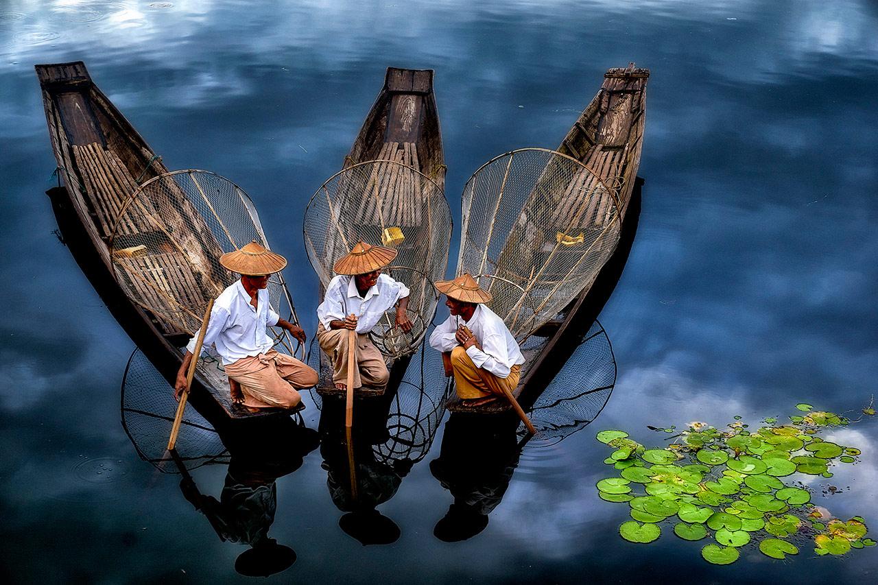 В ожидании пассажира, © Тхи Ха Маунг, Мьянма, Второе место, Международный фотоконкурс Xposure