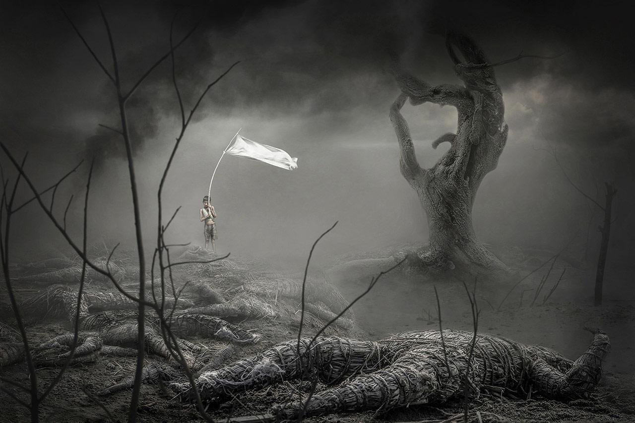 Белый флаг, © Наташа Мандал, Индия, Победитель, Международный фотоконкурс Xposure