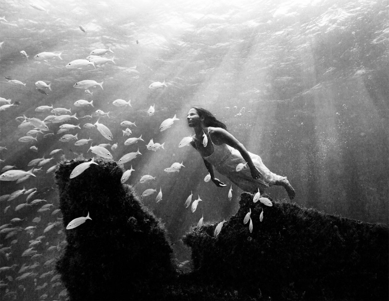Мел, © Миган ОГИЛВИ, 3-е место в категории «Люди и животные», профессионал, Фотоконкурс «Зебра» — Zebra — Чёрно-белый фотограф года