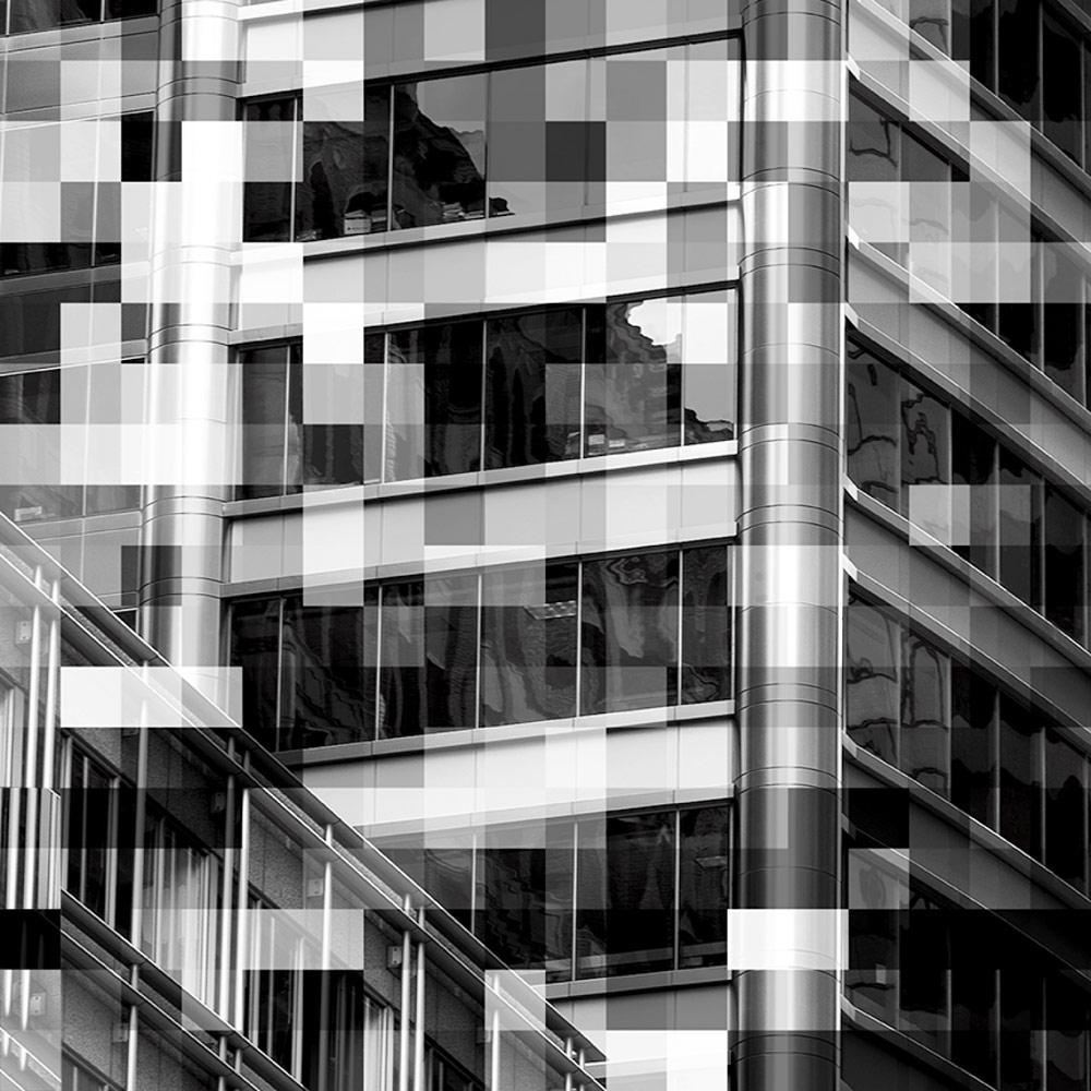 Фасад, © Гейл МАНКУС, 3-е место в категории «Архитектура», профессионал, Фотоконкурс «Зебра» — Zebra — Чёрно-белый фотограф года