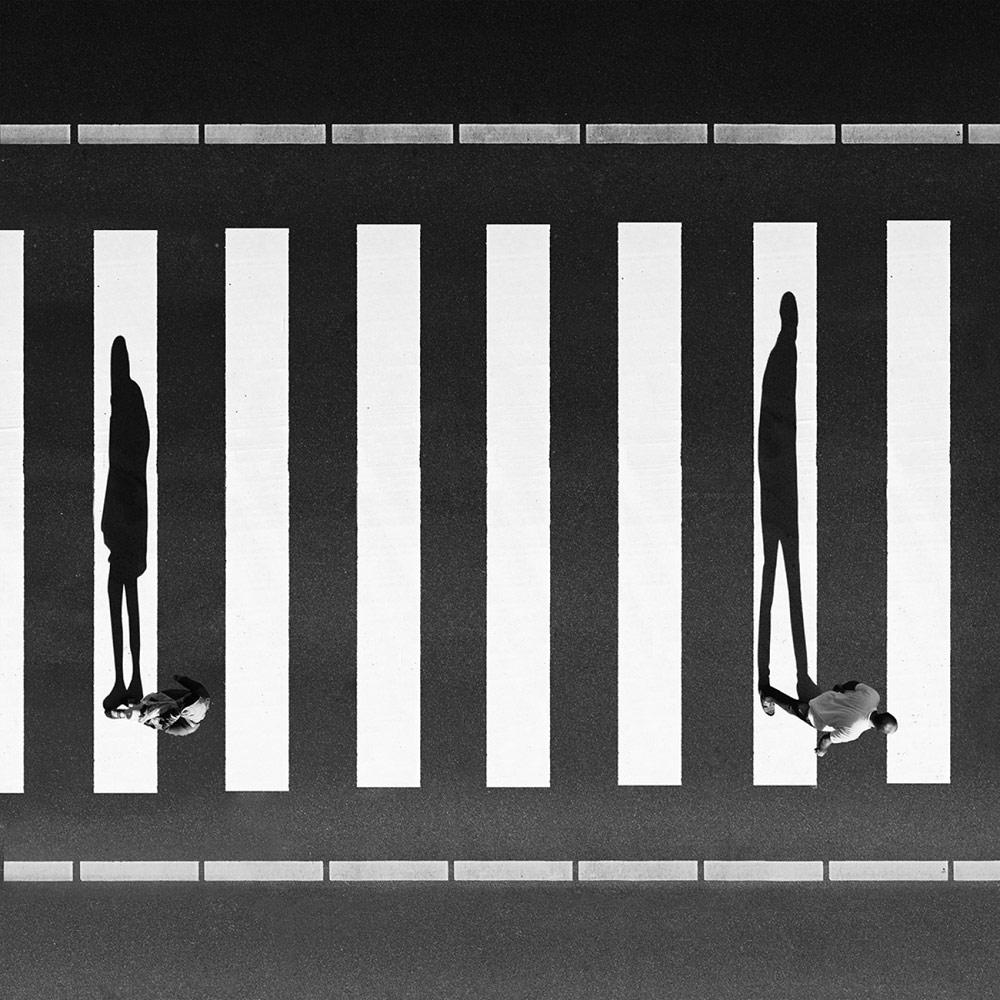 Развод, © Милад САФАБАКШ, 3-е место в категории «Художественная фотография», профессионал, Фотоконкурс «Зебра» — Zebra — Чёрно-белый фотограф года